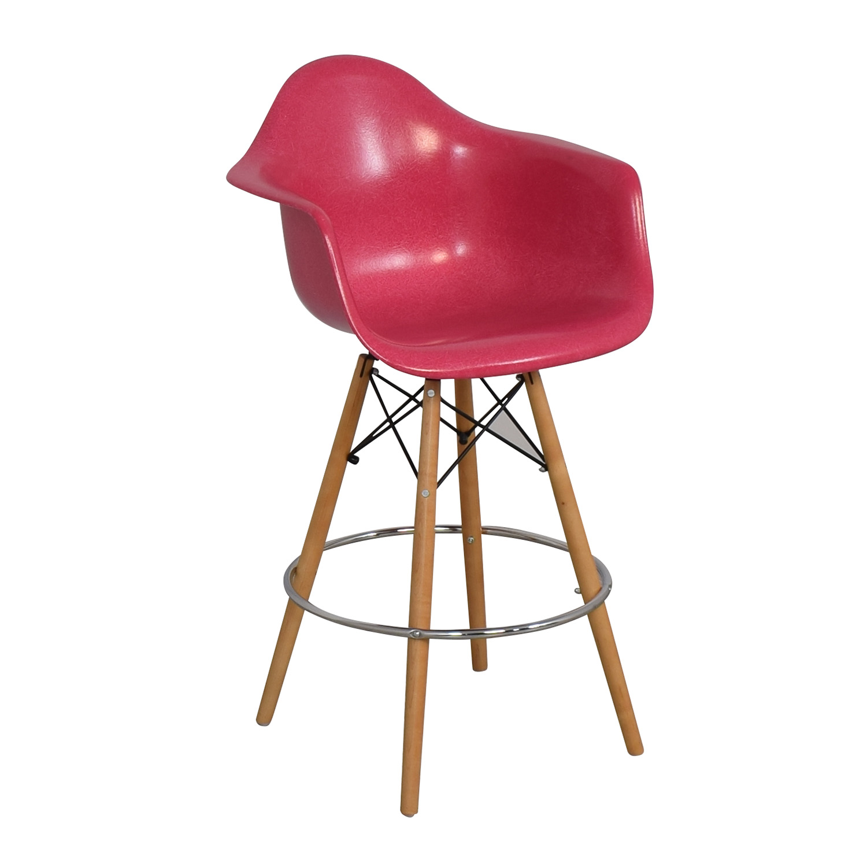 shop Modernica Case Study Furniture Arm Shell Dowel Bar Stool Modernica