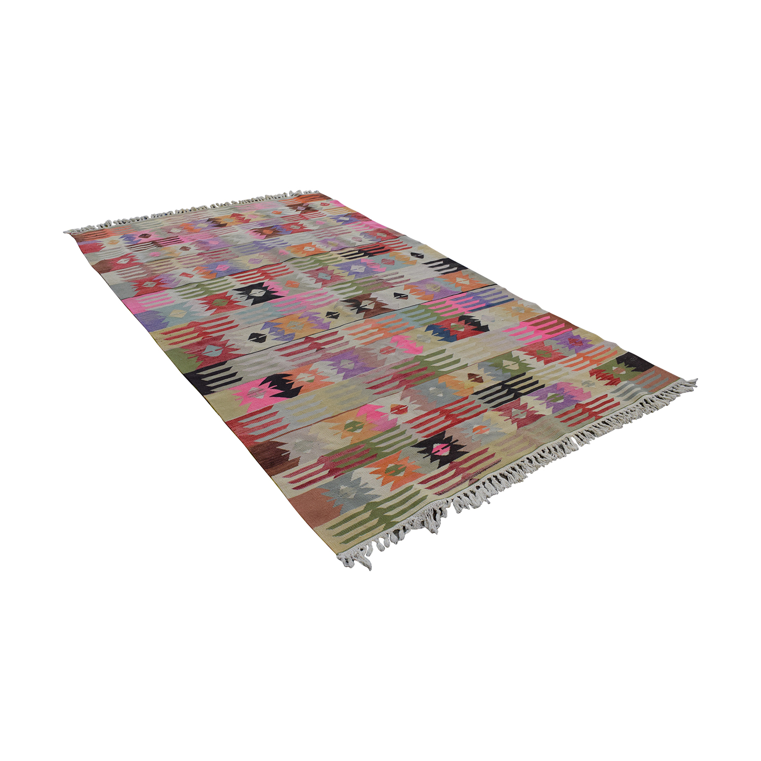 Hand Knotted Area Rug pa