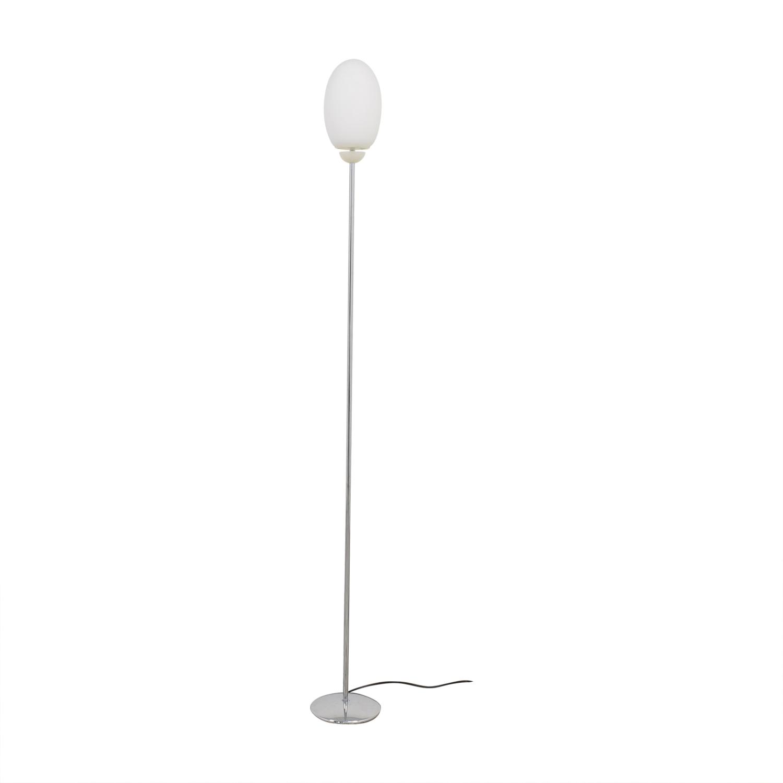FLOS FLOS Brera Floor Lamp silver & white