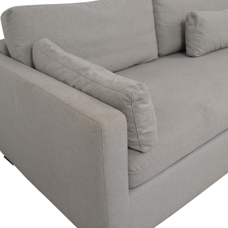 60% OFF - Interior Define Interior Define Charly Corner Sectional Sofa /  Sofas