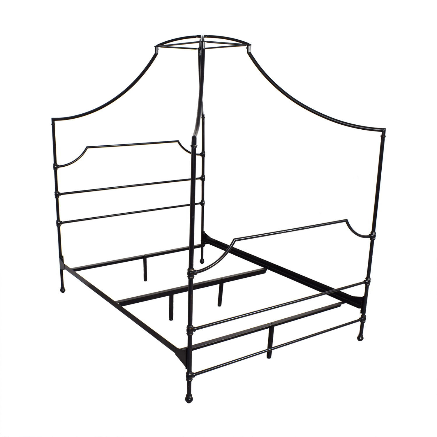 Pottery Barn Teen Pottery Barn Teen Full Maison Canopy Bed black