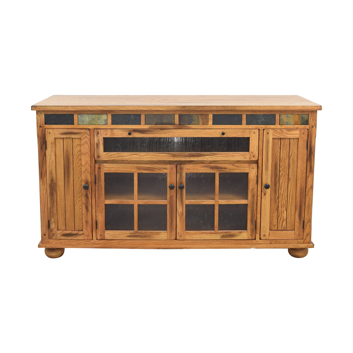 buy Media Console with Drawers and Cabinets  Storage