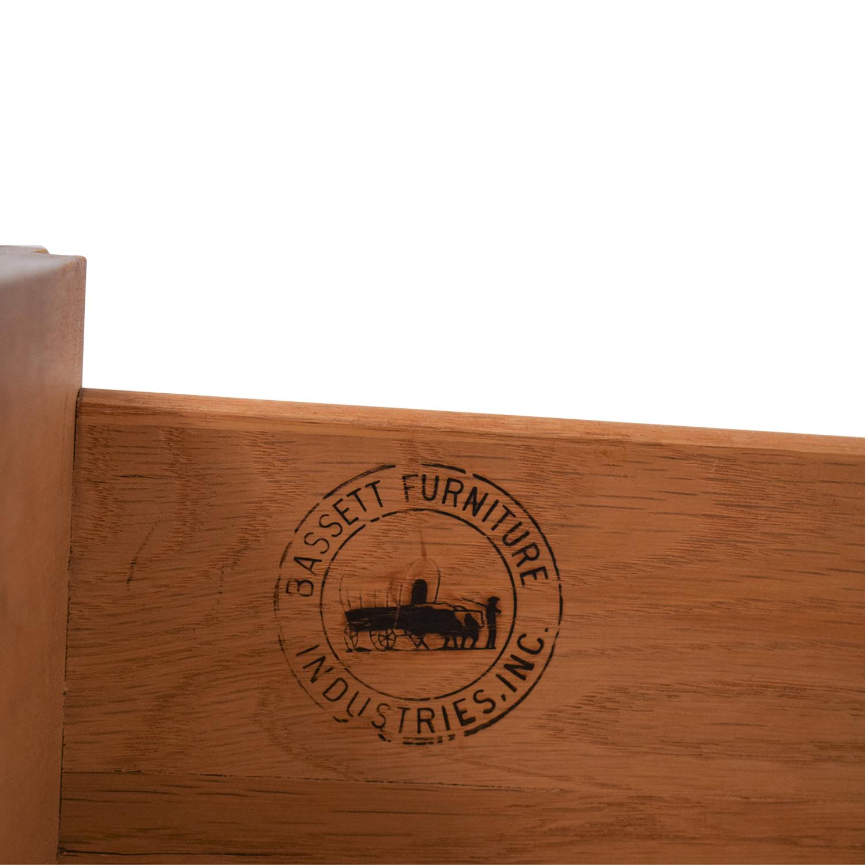 Bassett Furniture Bassett Furniture Vintage Desk and Cabinet for sale