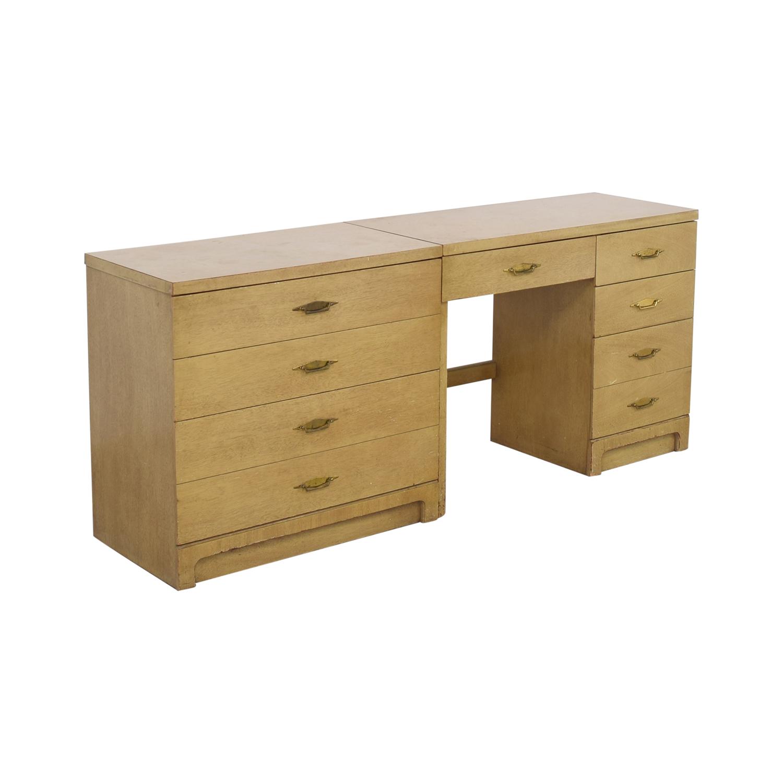 Bassett Furniture Bassett Furniture Vintage Desk and Cabinet coupon