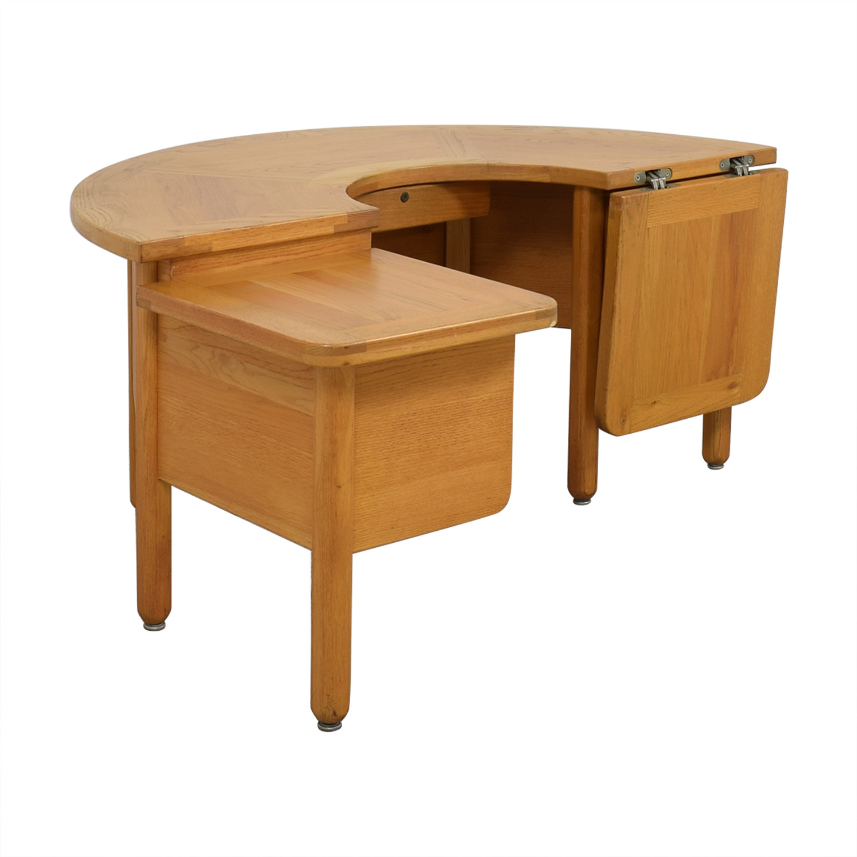 Fischer Cabinet Company Fischer Cabinet Company U-Shaped Desk dimensions