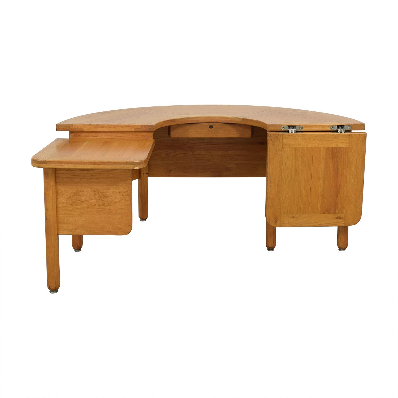 Fischer Cabinet Company Fischer Cabinet Company U-Shaped Desk Tables