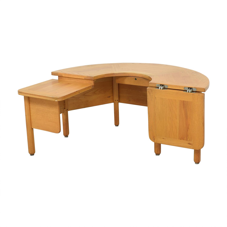 Fischer Cabinet Company Fischer Cabinet Company U-Shaped Desk Home Office Desks