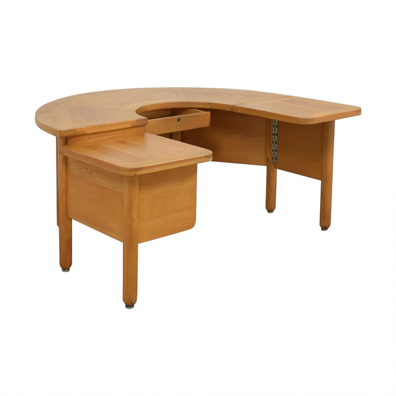 Fischer Cabinet Company Fischer Cabinet Company U-Shaped Desk ma