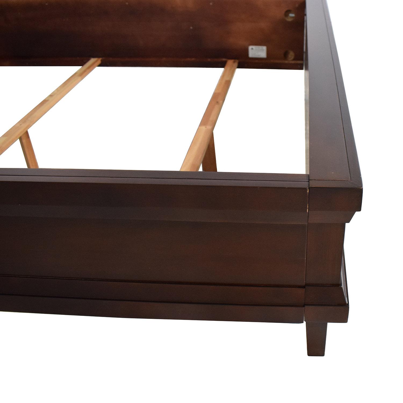 Casana Furniture Casana Upholstered Headboard Queen Bed on sale
