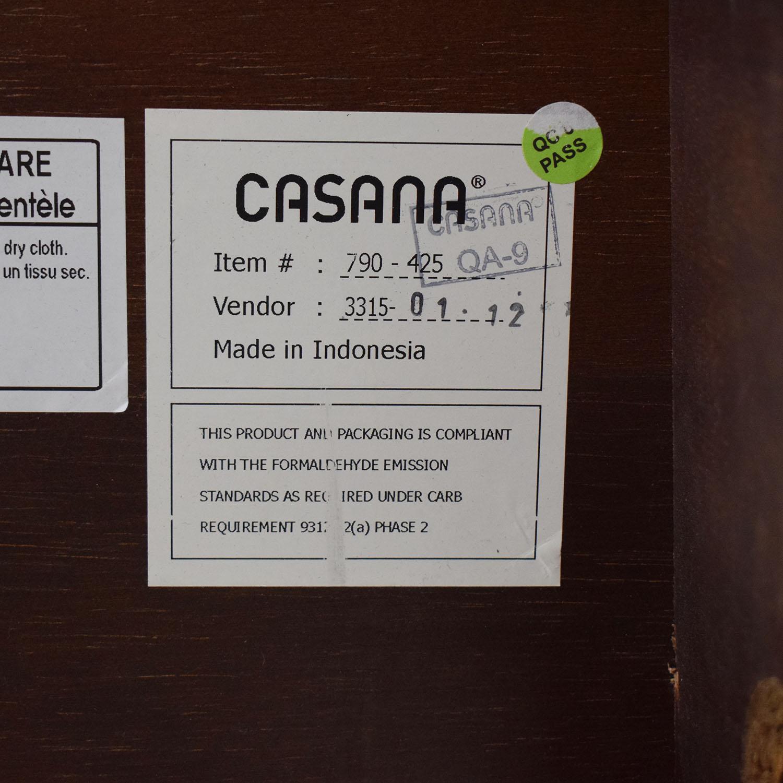 Casana Furniture Casana Upholstered Headboard Queen Bed