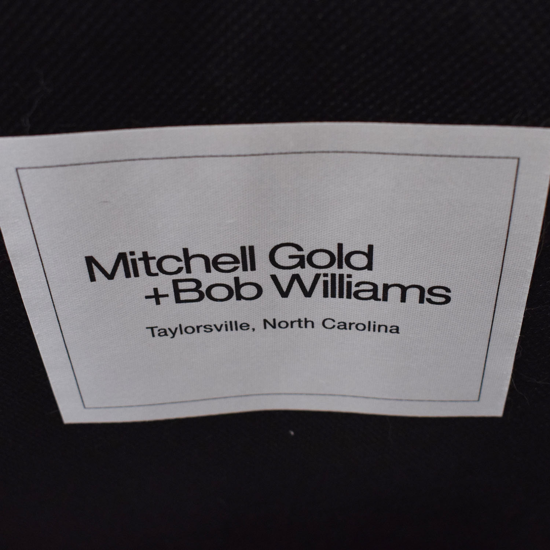 Mitchell Gold + Bob Williams Mitchell Gold + Bob Williams Accent Chair blue