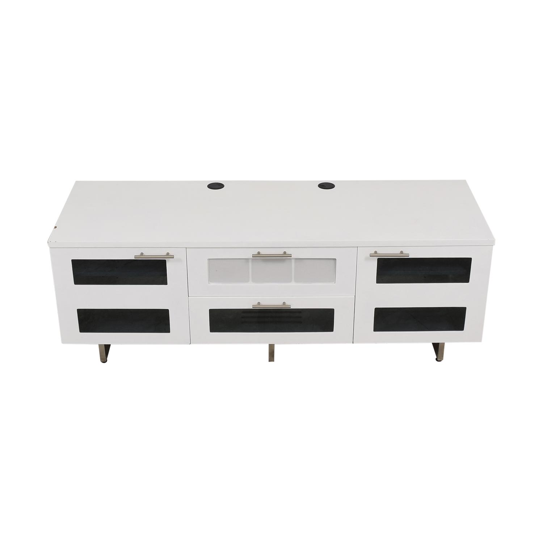 BDI Avion Noir TV Stand BDI Furniture