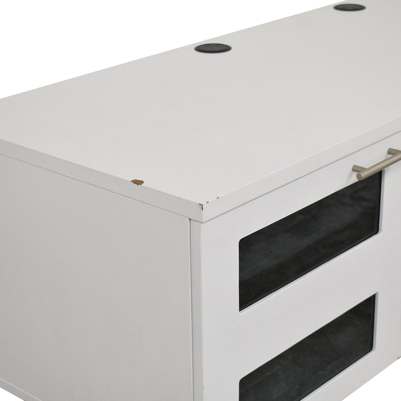 buy BDI Avion Noir TV Stand BDI Furniture