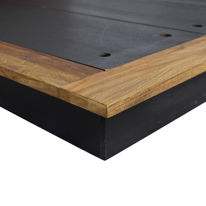 shop ABC Carpet & Home Form Queen Bed ABC Carpet & Home Bed Frames