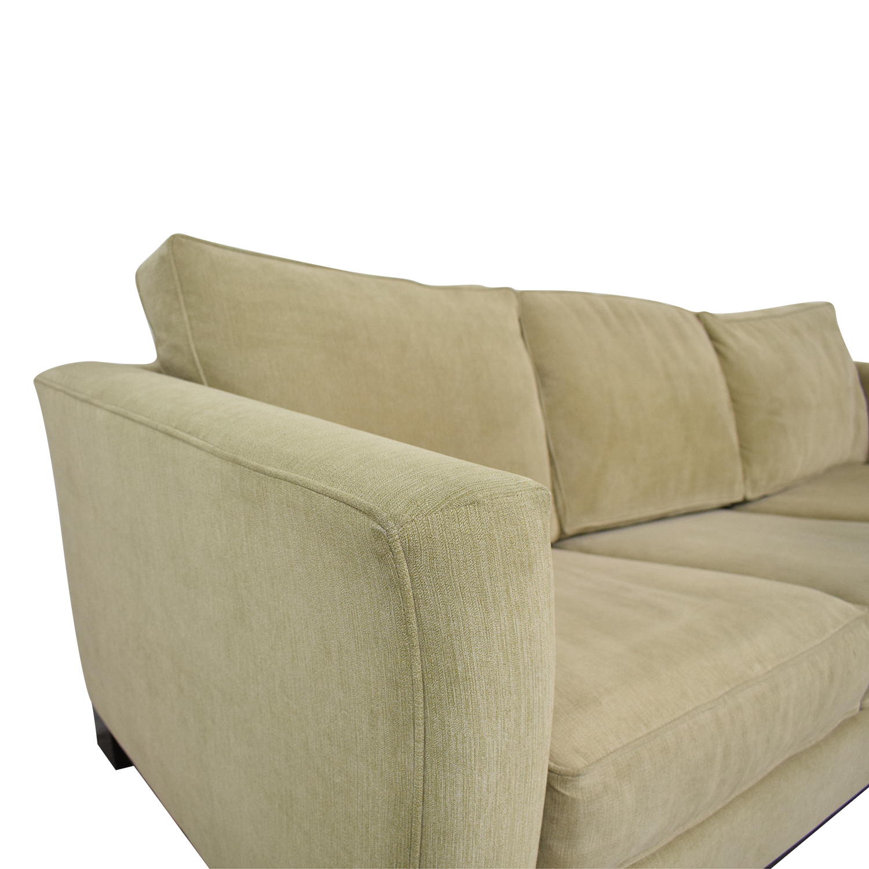 Macy's Macy's Sleeper Sofa beige