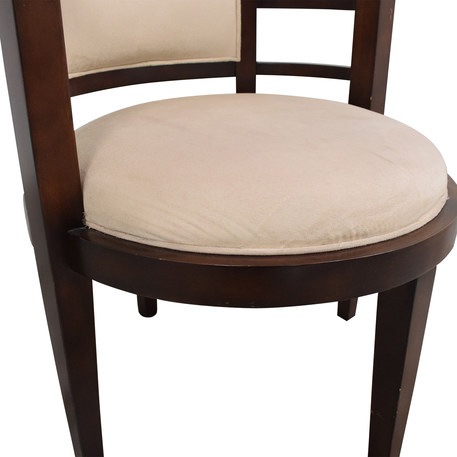 Open Round Back Accent Chair on sale