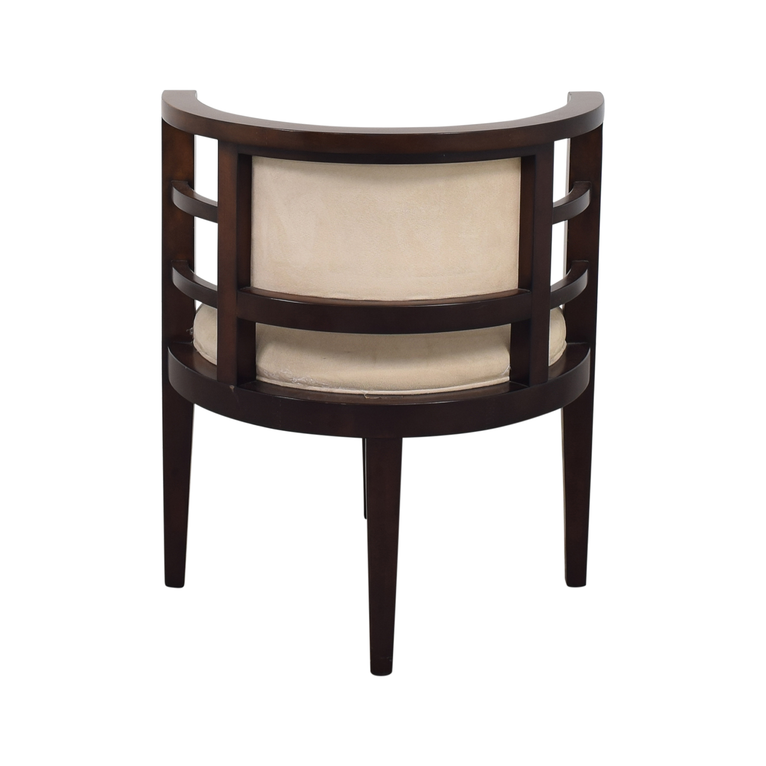Open Round Back Accent Chair nyc