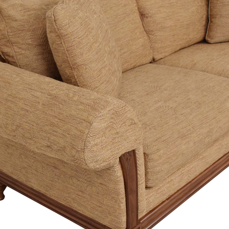Ethan Allen Ethan Allen Two Cushion Sofa pa