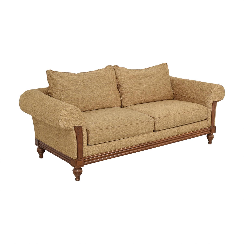 buy Ethan Allen Two Cushion Sofa Ethan Allen
