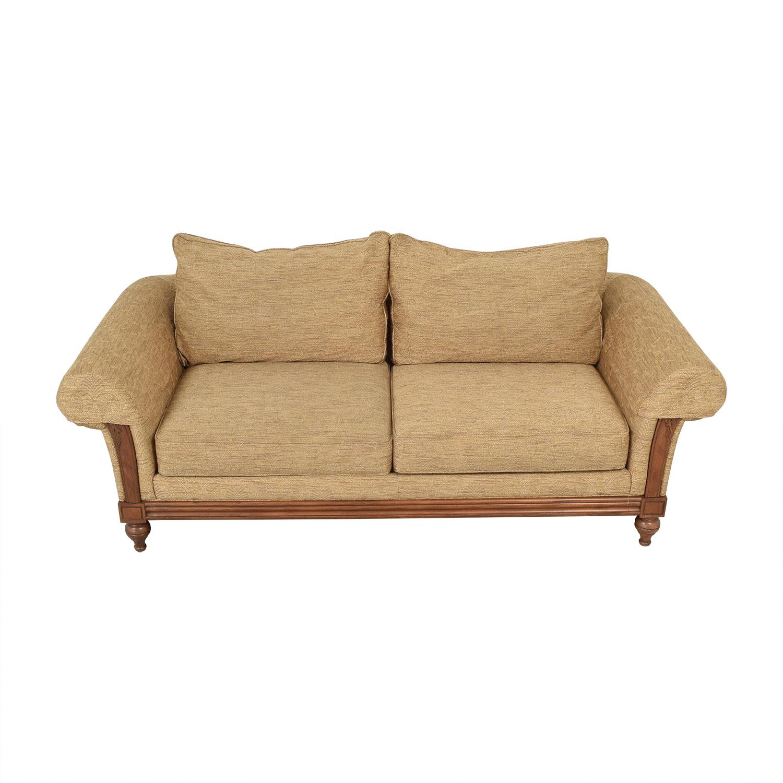 buy Ethan Allen Two Cushion Sofa Ethan Allen Sofas