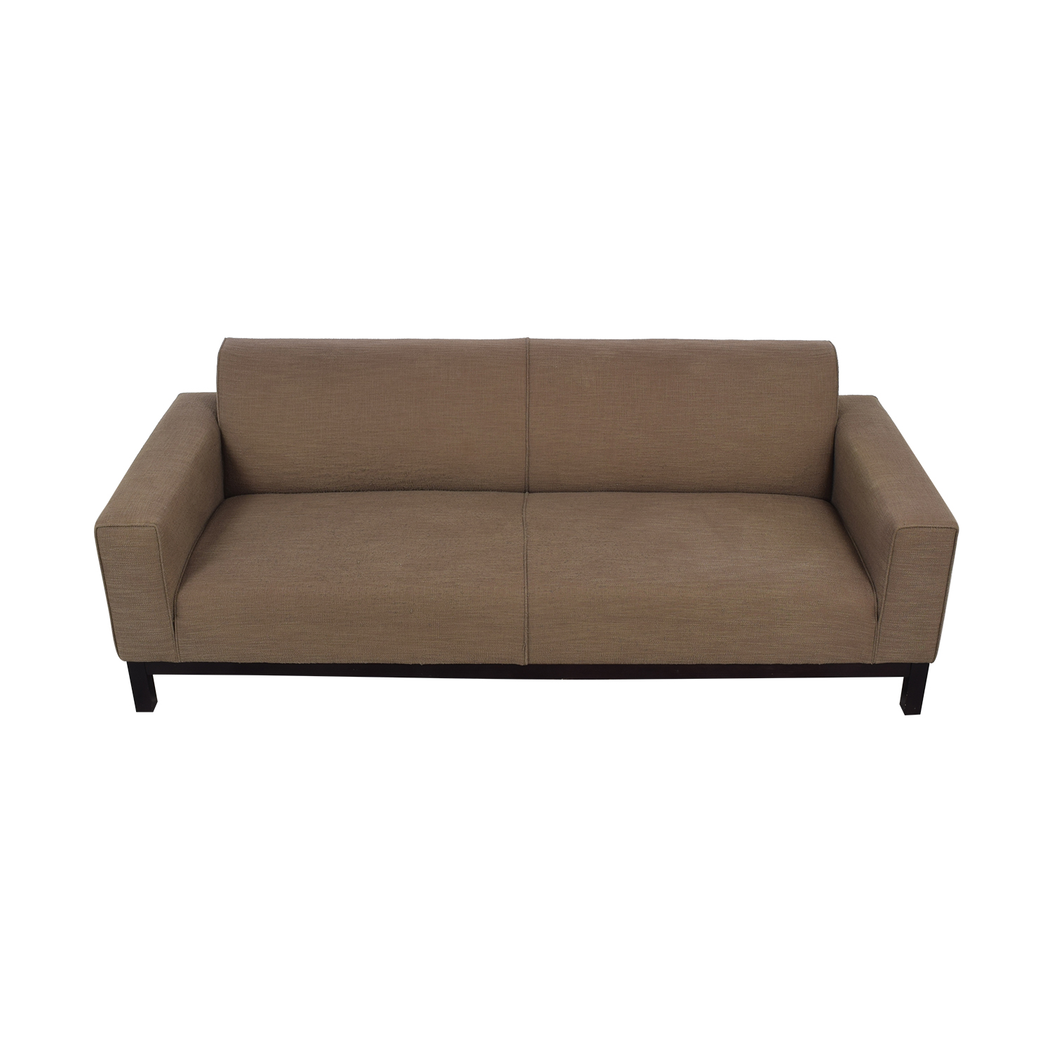 Crate & Barrel Tight Back Sofa Crate & Barrel