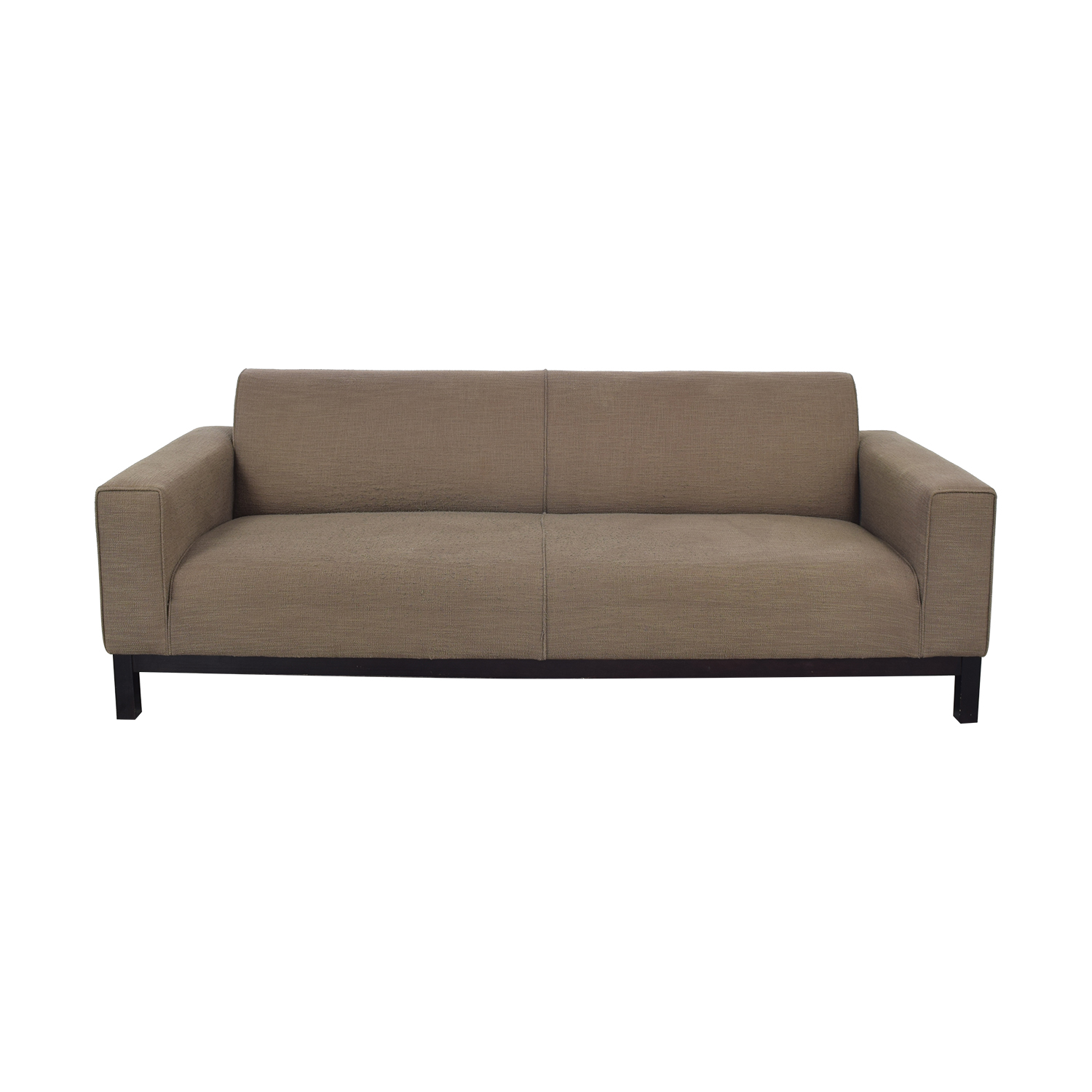 buy Crate & Barrel Tight Back Sofa Crate & Barrel
