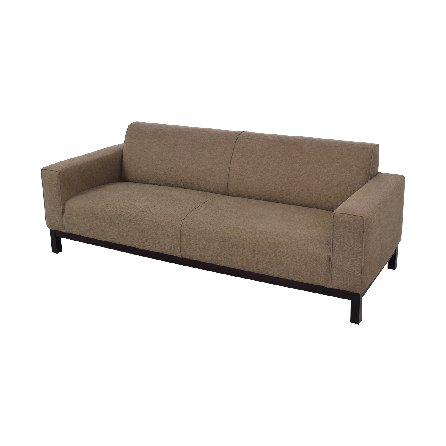 Crate & Barrel Tight Back Sofa / Sofas