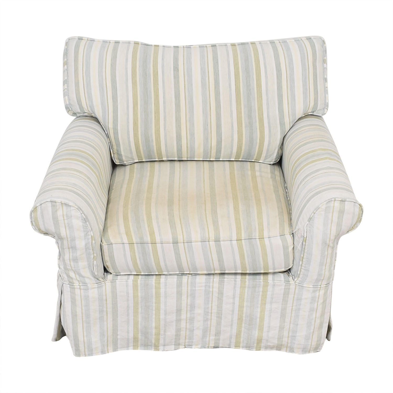 buy Crate & Barrel Slipcovered Accent Chair Crate & Barrel Chairs