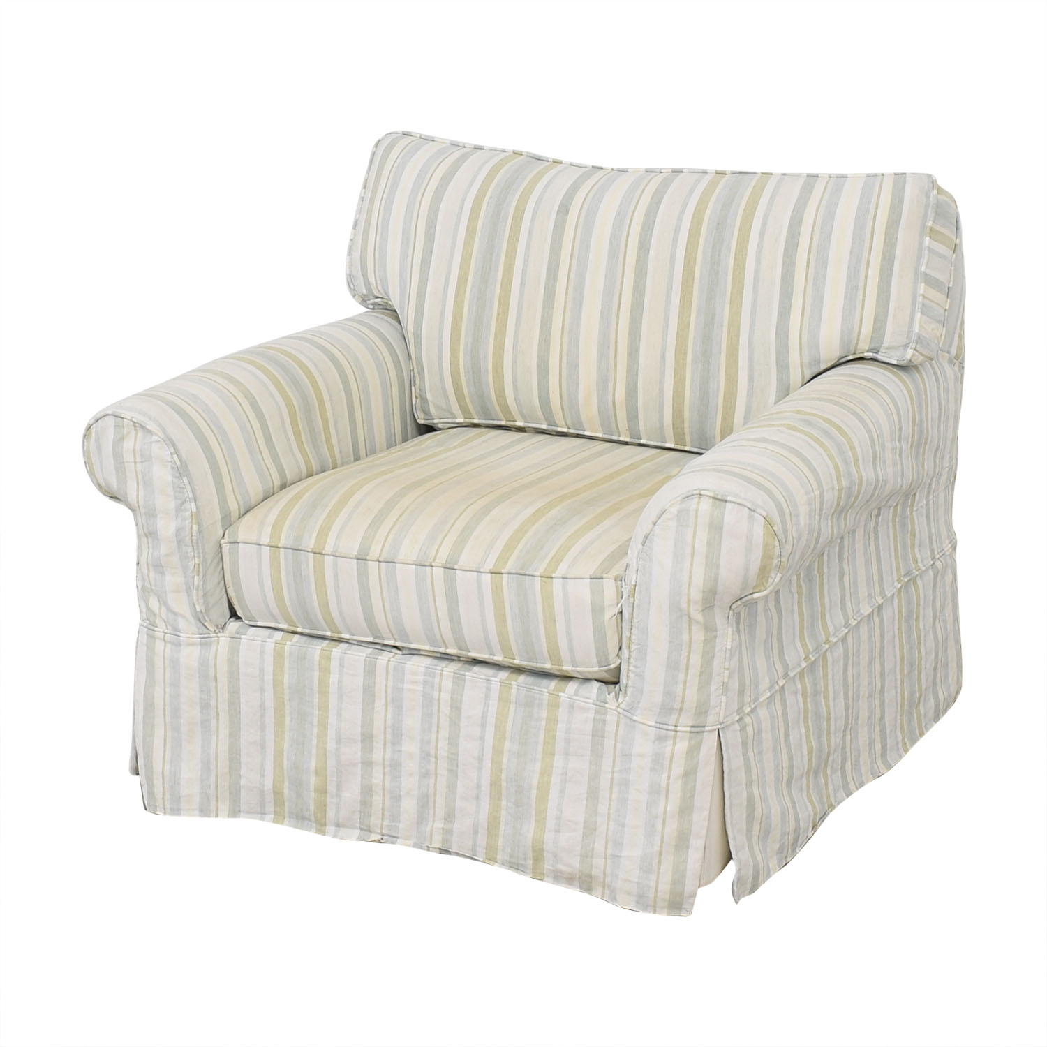 Crate & Barrel Crate & Barrel Slipcovered Accent Chair dimensions