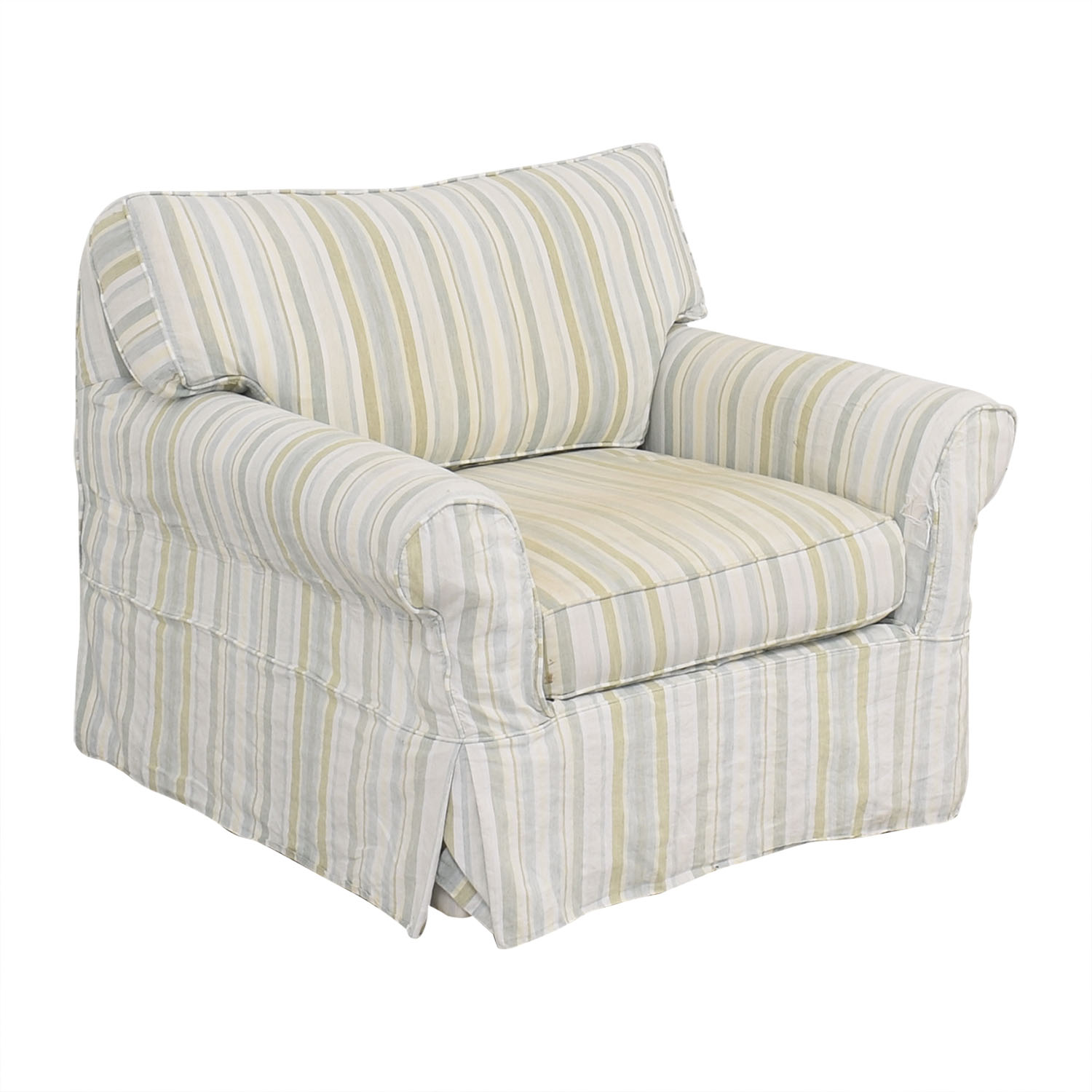 buy Crate & Barrel Crate & Barrel Slipcovered Accent Chair online