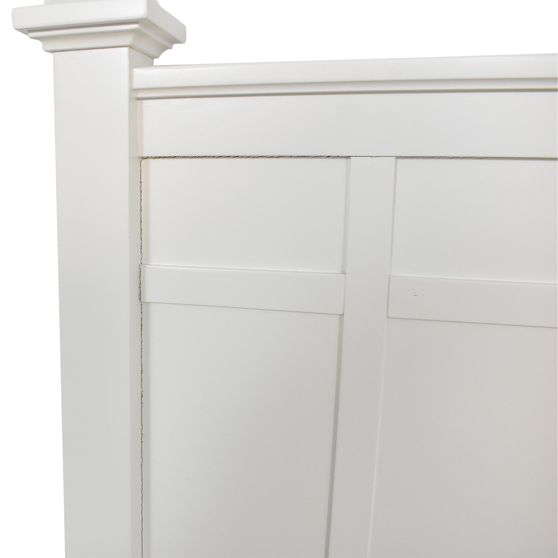 buy Crate & Barrel Brighton Queen Bed Crate & Barrel Bed Frames