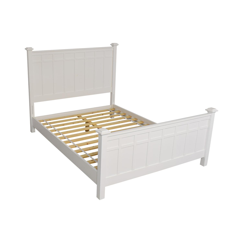 Crate & Barrel Brighton Queen Bed / Beds