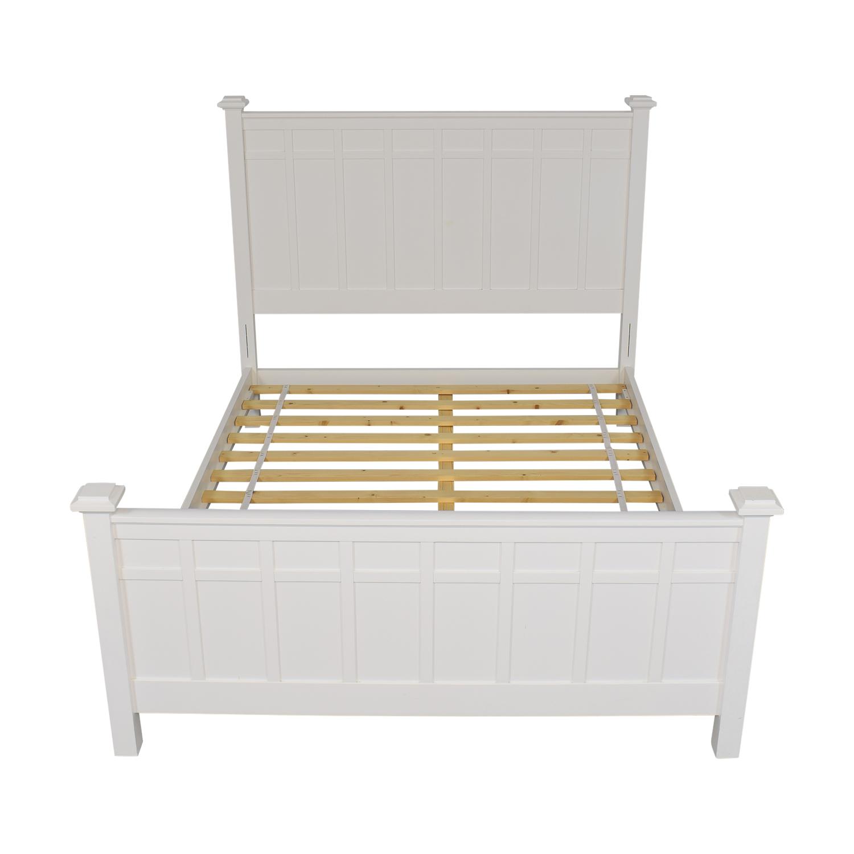 Crate & Barrel Crate & Barrel Brighton Queen Bed second hand