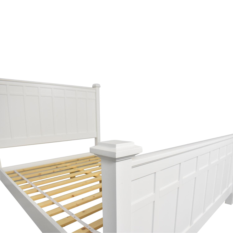 Crate & Barrel Brighton Queen Bed Crate & Barrel