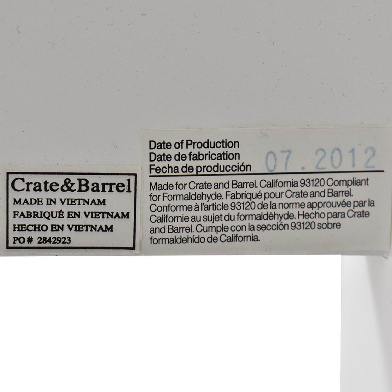 Crate & Barrel Brighton Queen Bed / Bed Frames