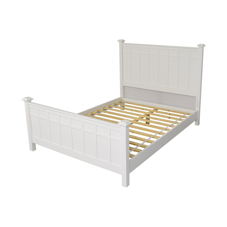 Crate & Barrel Crate & Barrel Brighton Queen Bed pa