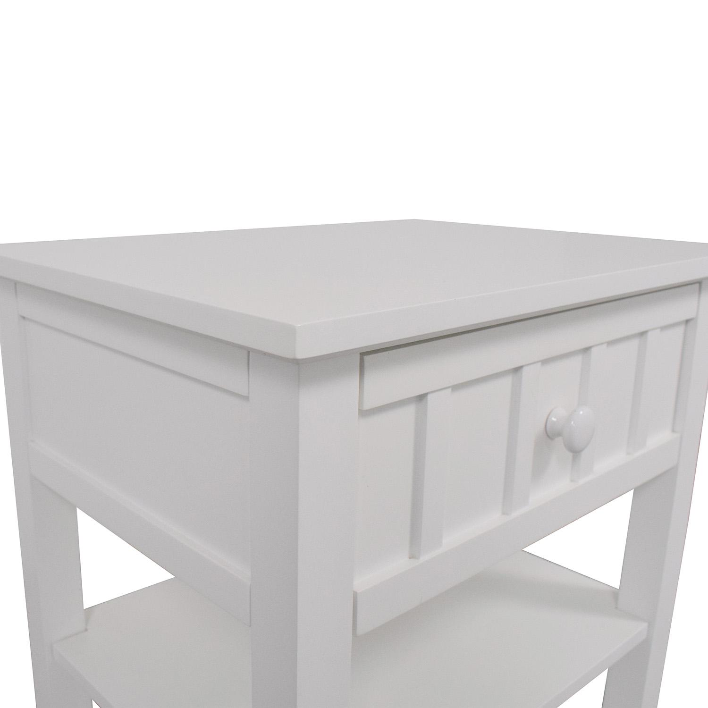 Crate & Barrel Crate & Barrel Brighton Nightstand discount