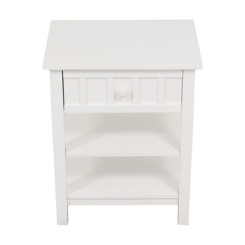 buy Crate & Barrel Brighton Nightstand Crate & Barrel End Tables