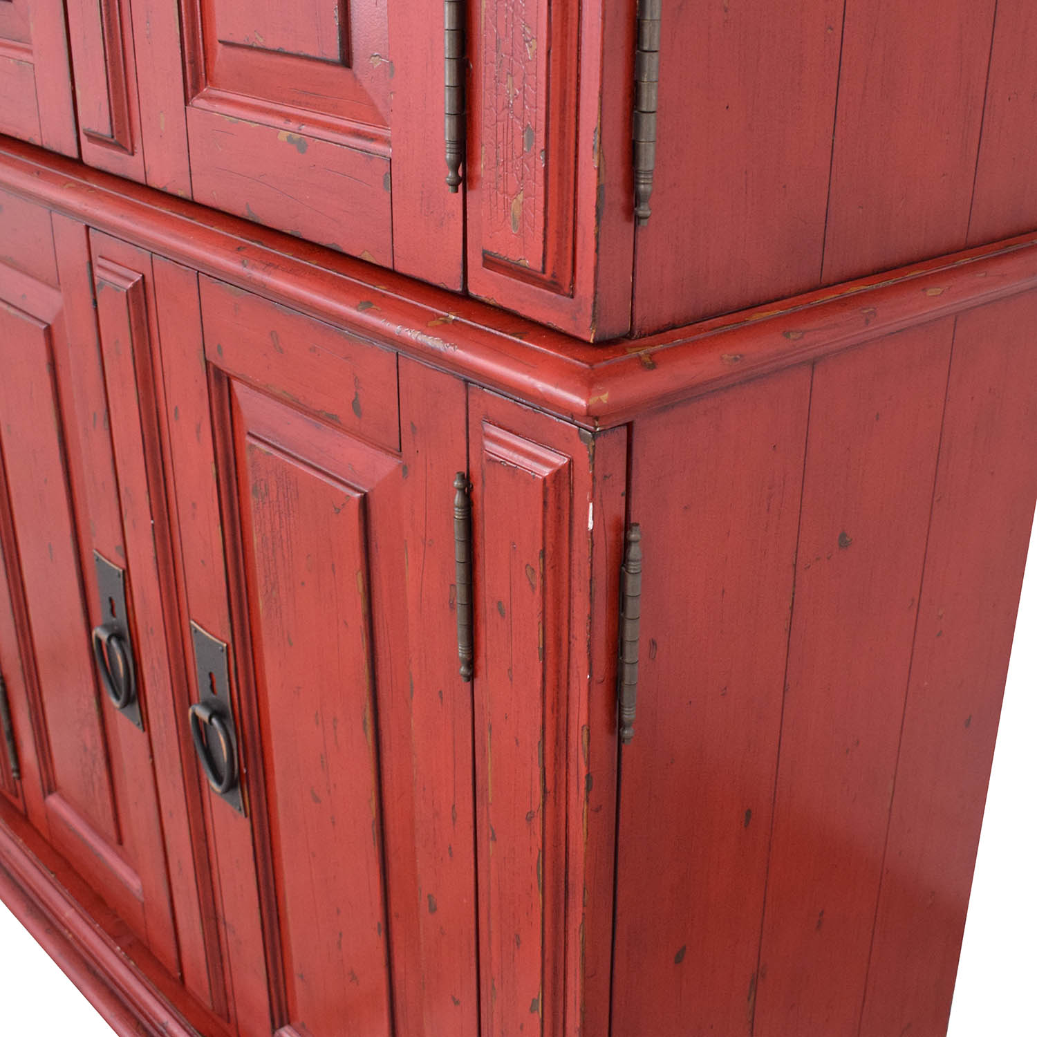 Pottery Barn Pottery Barn Campton Office Armoire with Desk second hand