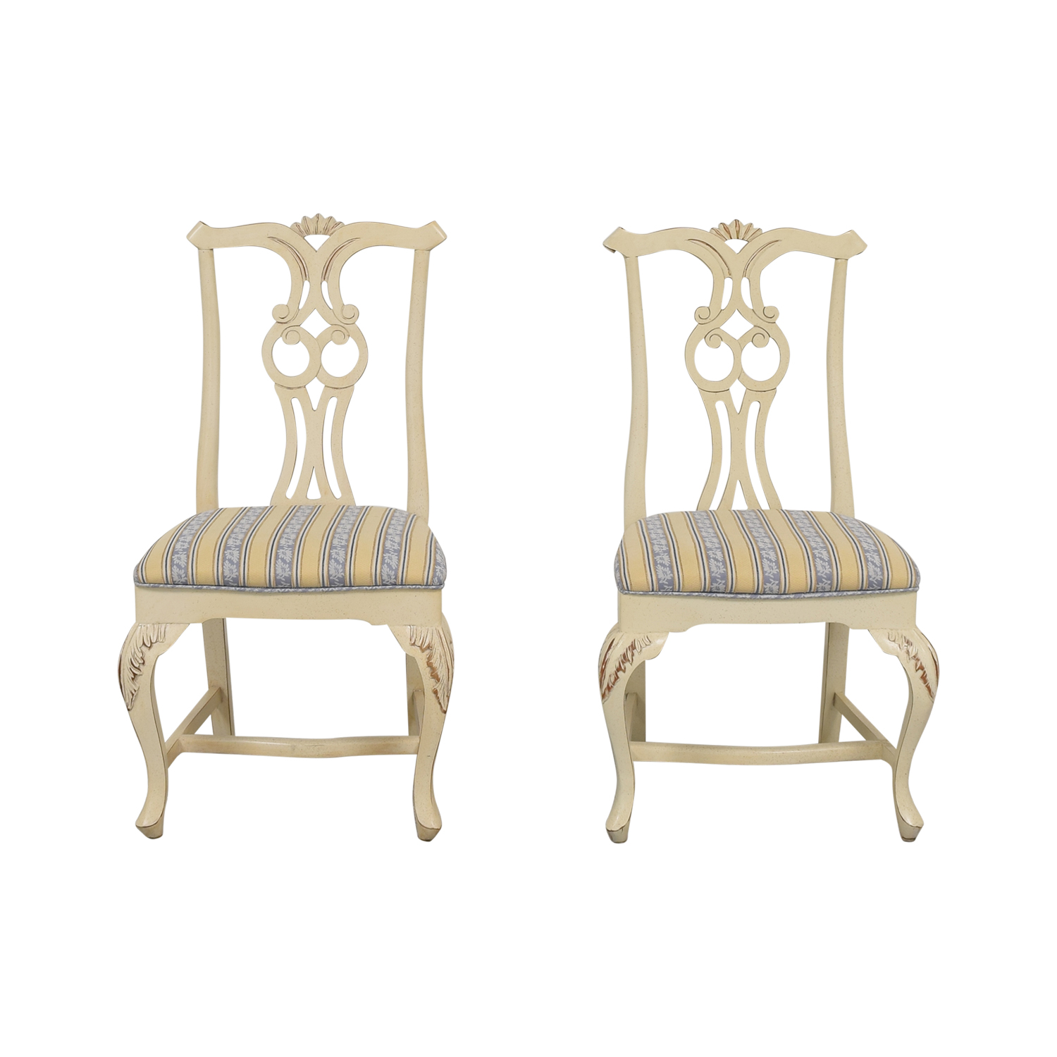 66 Off Upholstered Dining Chair Chairs