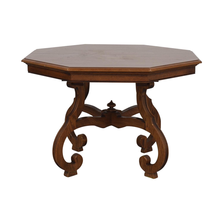 Ethan Allen Ethan Allen Octagon Dining Table