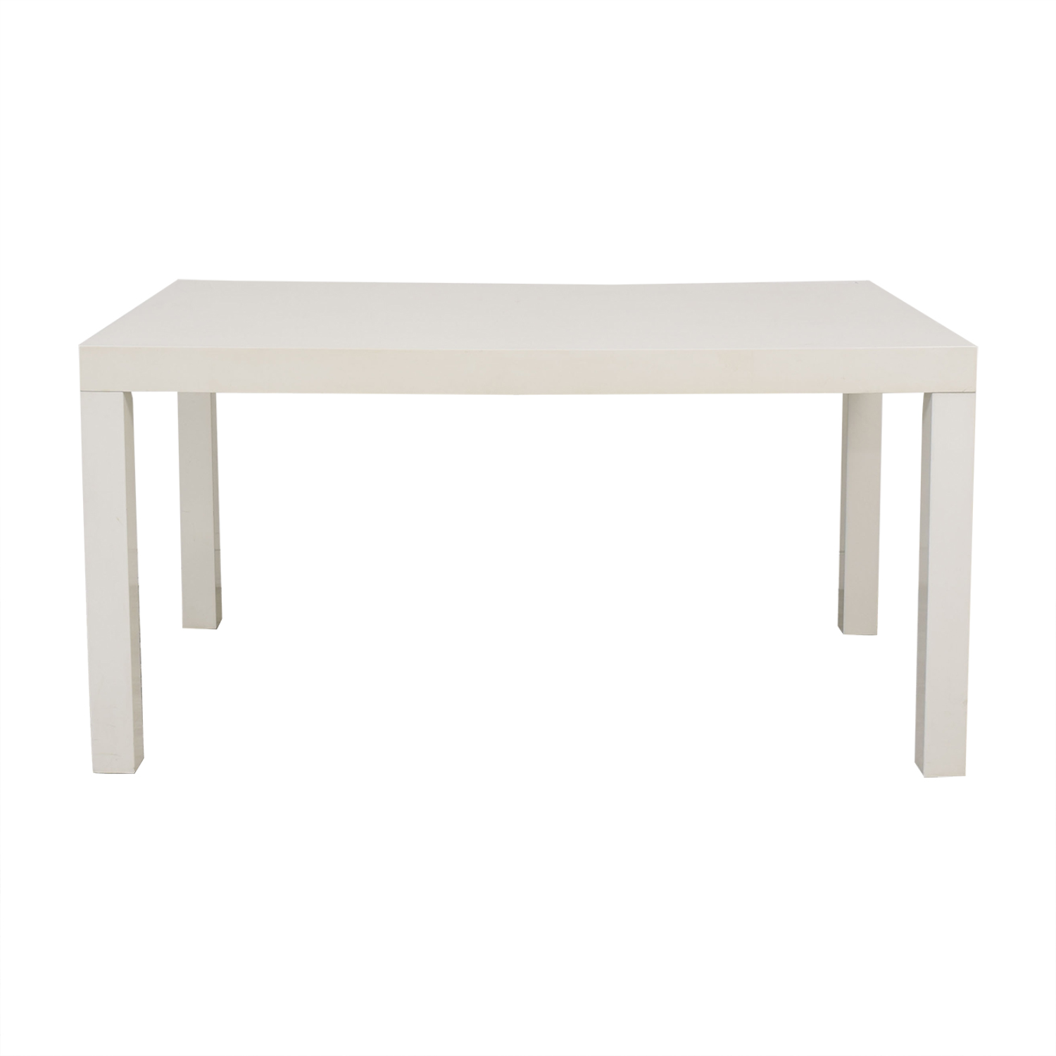 West Elm West Elm Parsons Style Dining Table nyc