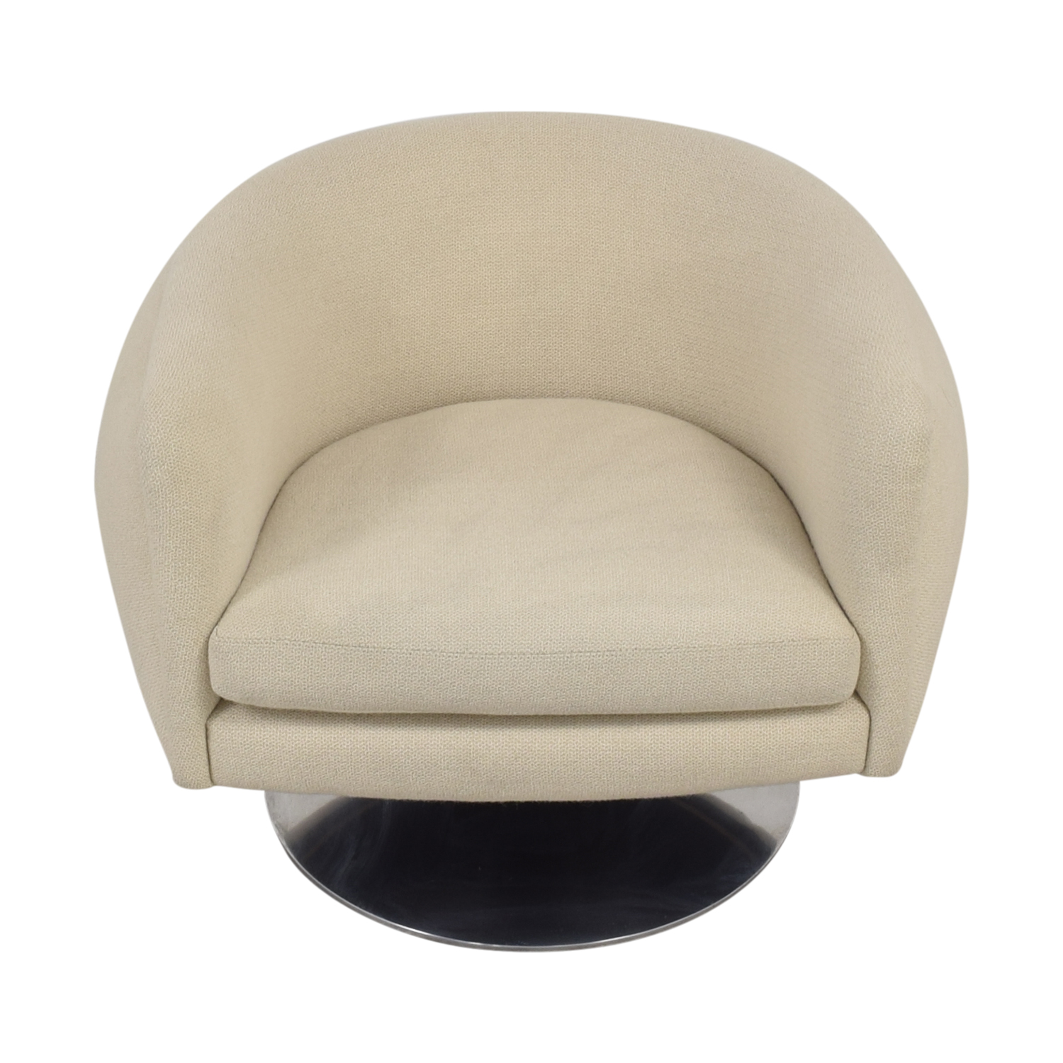 Knoll Knoll D'Urso Swivel Chair Accent Chairs