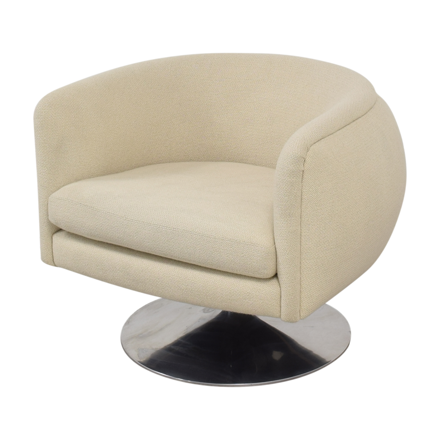 Knoll D'Urso Swivel Chair / Accent Chairs