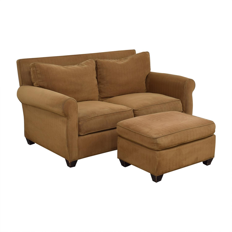 Domain Home Sofa and Ottoman / Loveseats