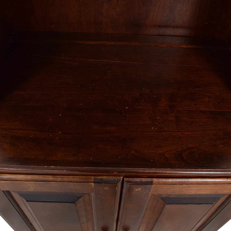 Vintage Bookshelf with Cabinet