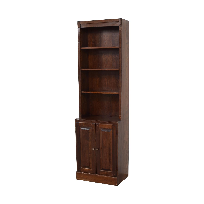 Vintage Bookshelf with Cabinet nyc