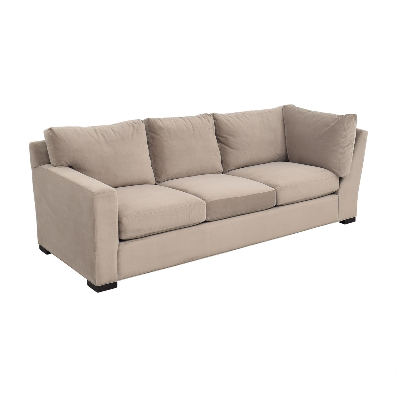 buy Crate & Barrel Axis II Left Arm Corner Sofa Crate & Barrel Classic Sofas