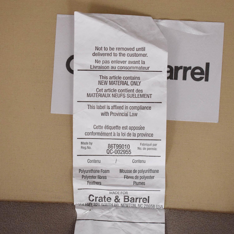 Crate & Barrel Crate & Barrel Axis II Left Arm Corner Sofa for sale