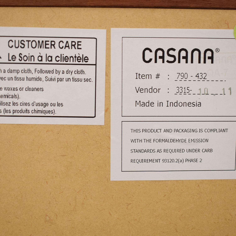 Casana Furniture Casana Vista Nightstand dimensions